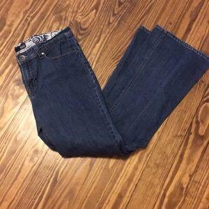 Ana modern bootcut jeans size 10.
